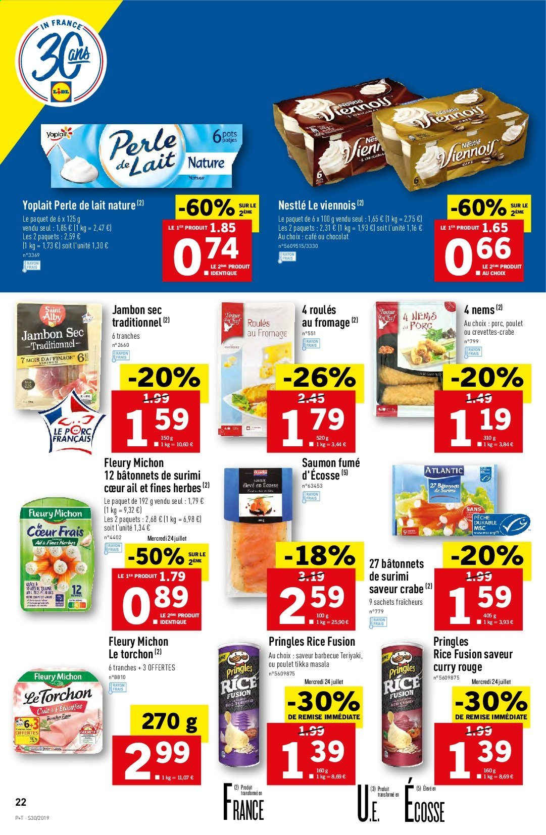 Catalogue Lidl - 24.07.2019 - 30.07.2019. Page 22.