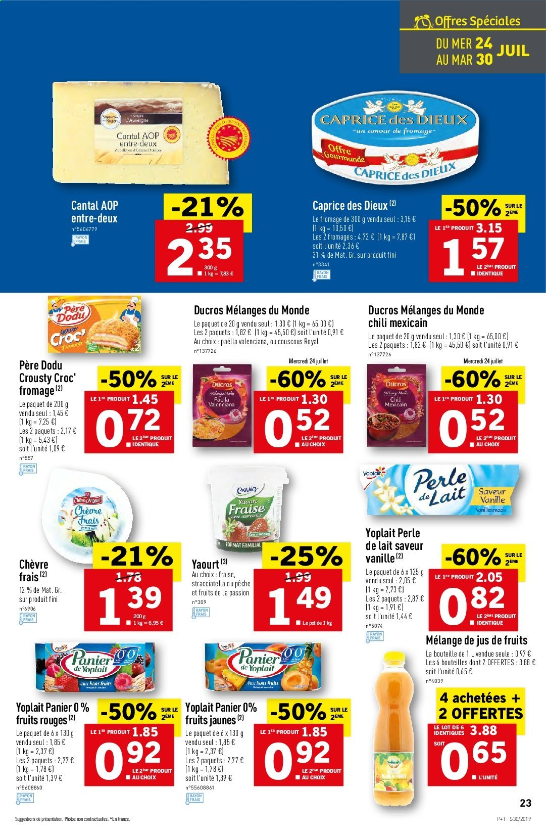 Catalogue Lidl - 24.07.2019 - 30.07.2019. Page 23.