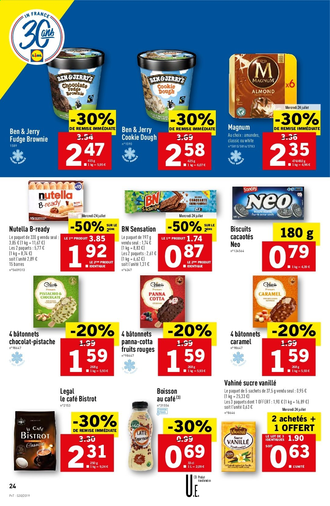 Catalogue Lidl - 24.07.2019 - 30.07.2019. Page 24.