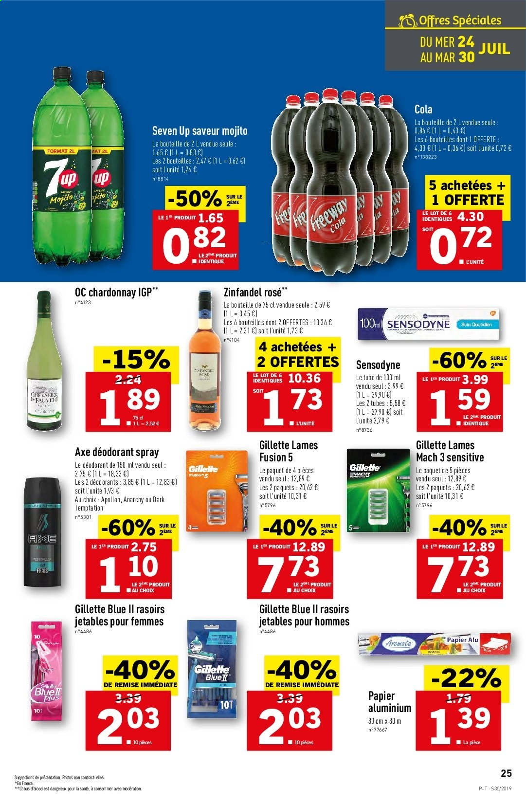 Catalogue Lidl - 24.07.2019 - 30.07.2019. Page 25.