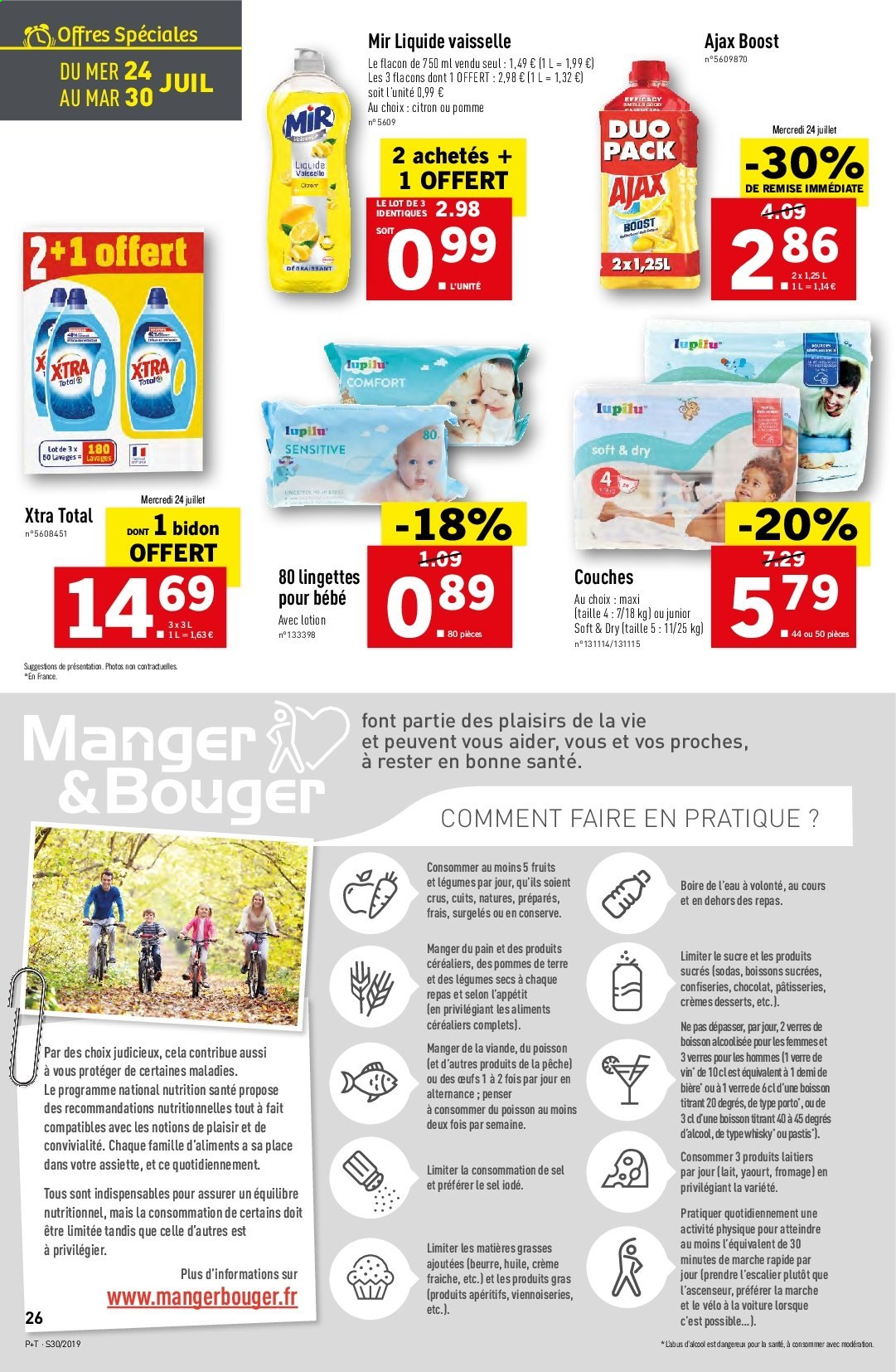 Catalogue Lidl - 24.07.2019 - 30.07.2019. Page 26.