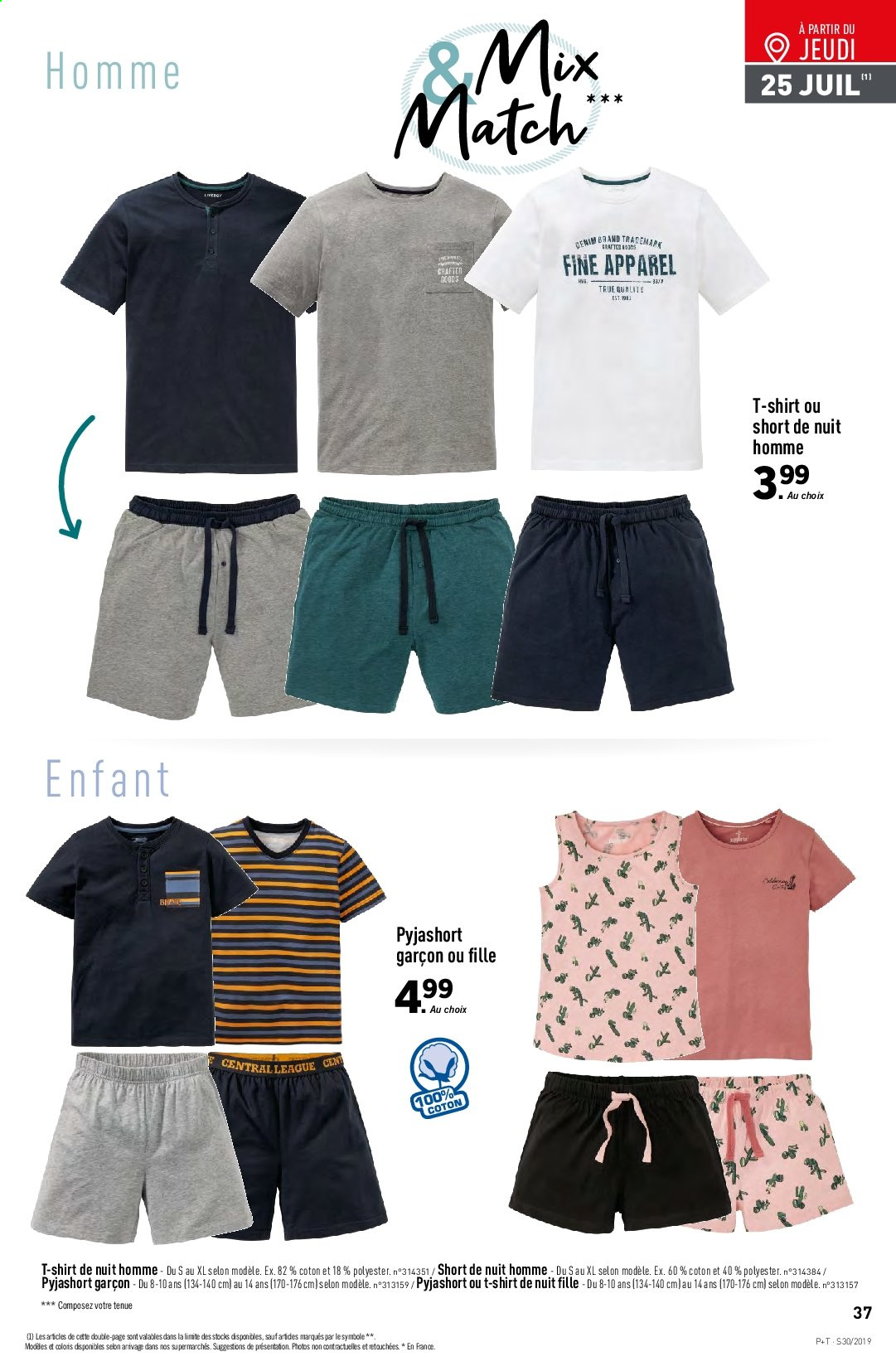 Catalogue Lidl - 24.07.2019 - 30.07.2019. Page 37.
