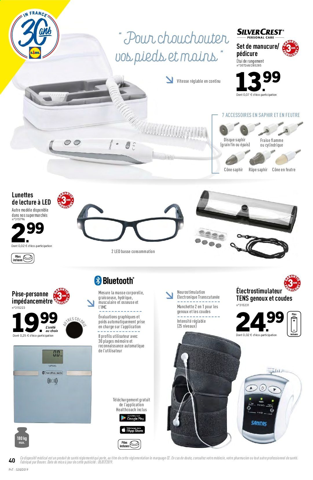 Catalogue Lidl - 24.07.2019 - 30.07.2019. Page 40.