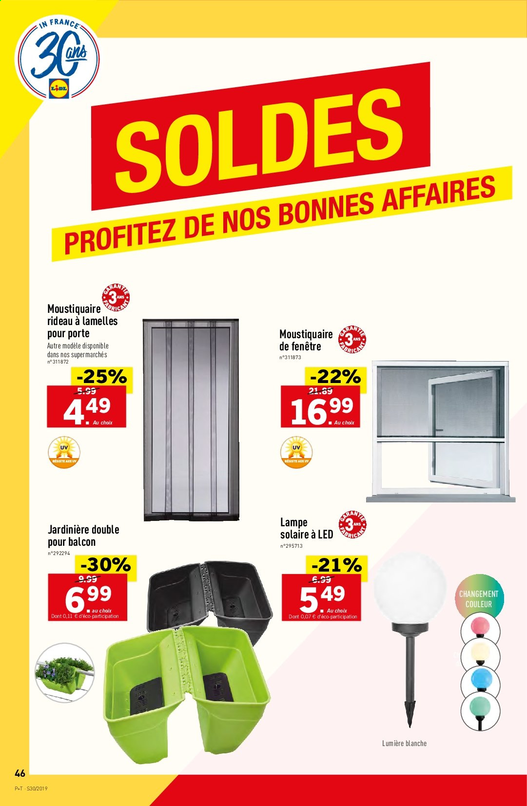 Catalogue Lidl - 24.07.2019 - 30.07.2019. Page 46.