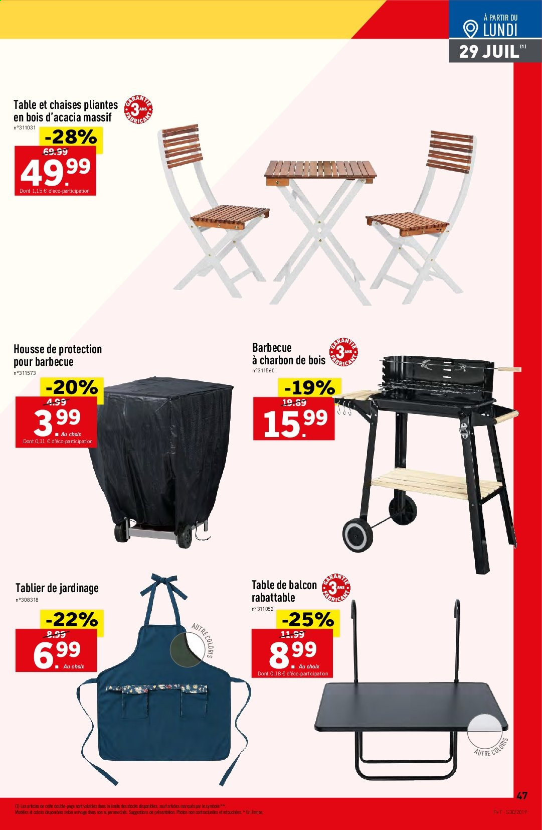 Catalogue Lidl - 24.07.2019 - 30.07.2019. Page 47.