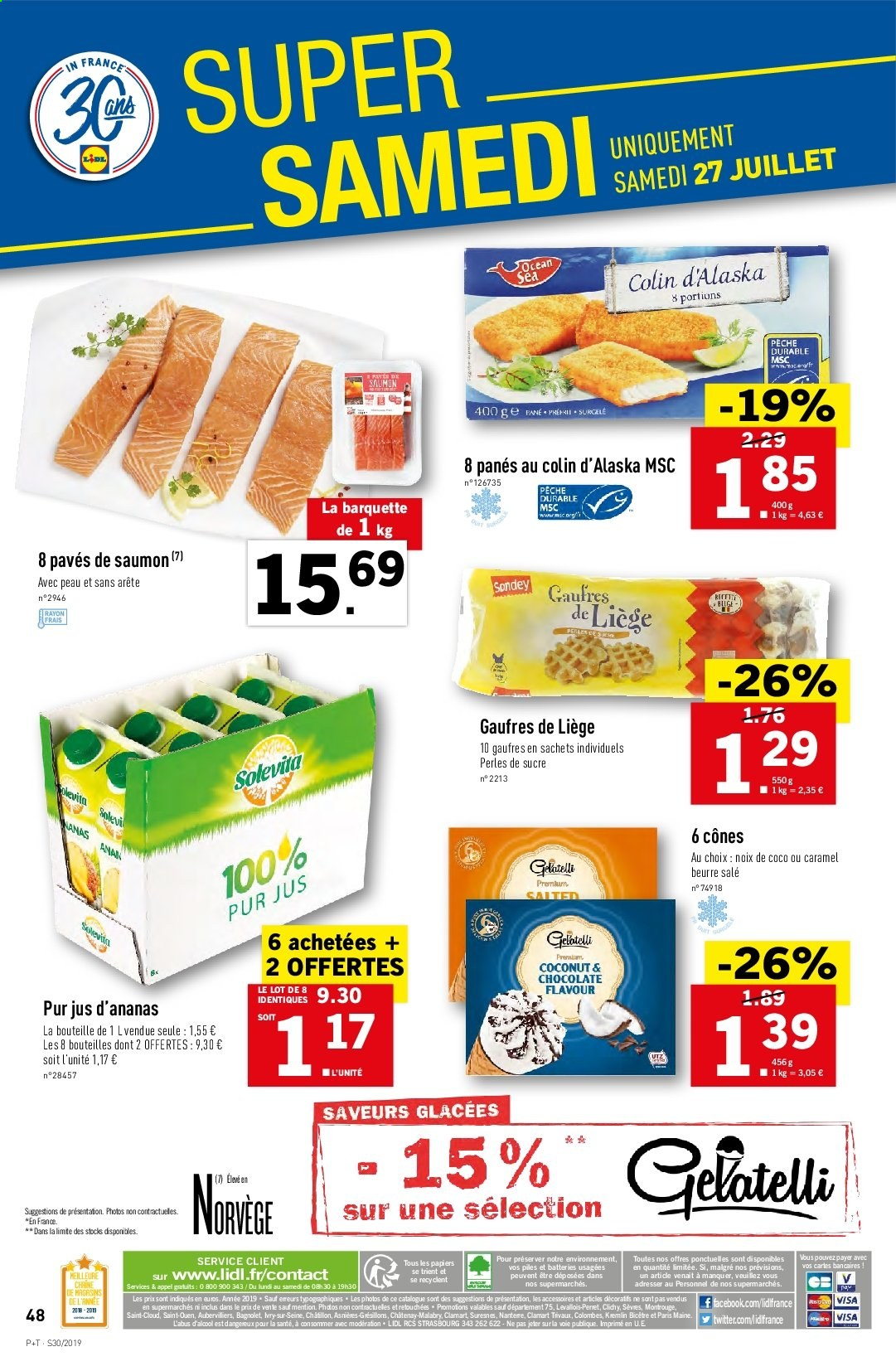Catalogue Lidl - 24.07.2019 - 30.07.2019. Page 48.