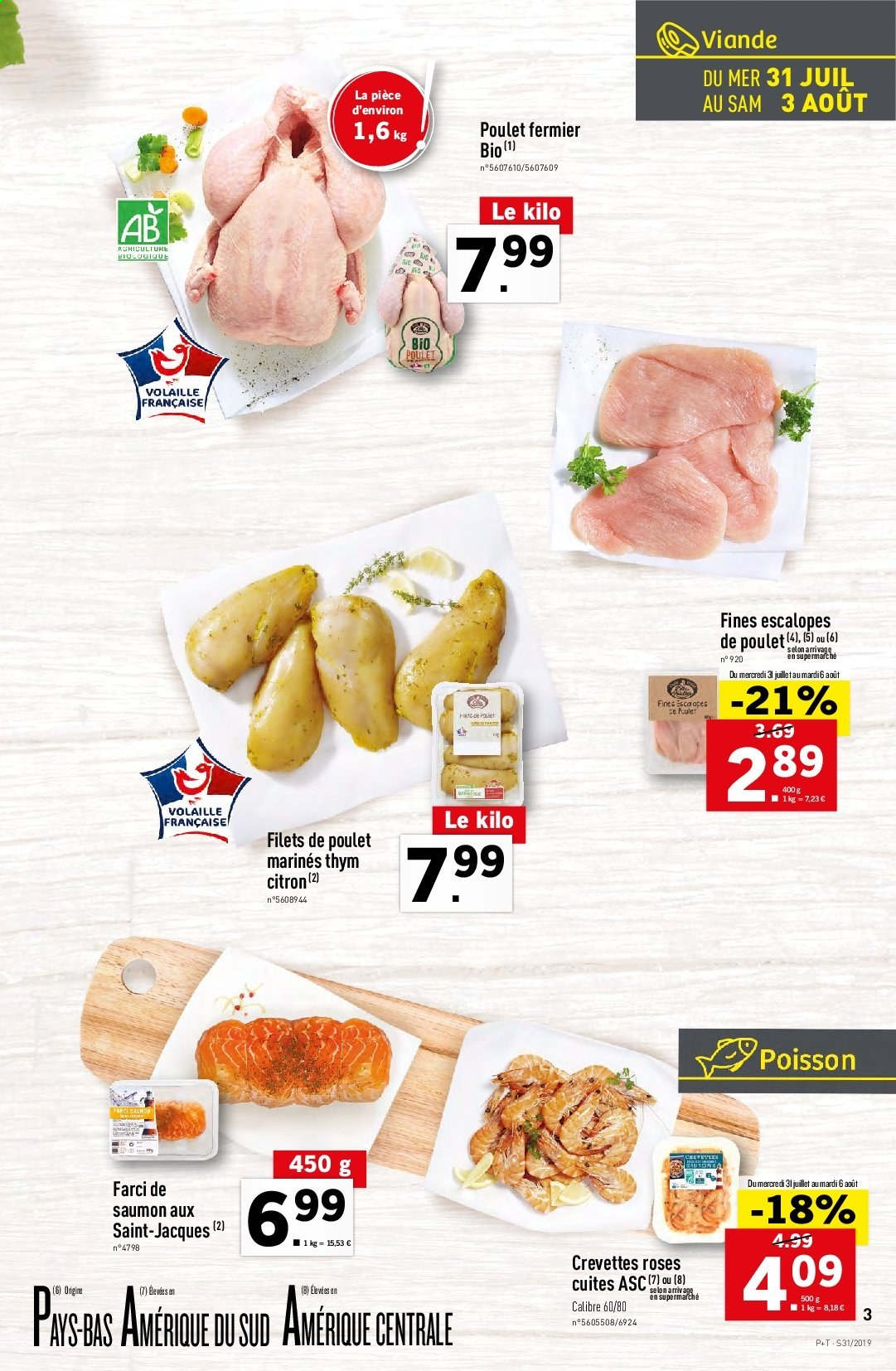 Catalogue Lidl - 31.07.2019 - 06.08.2019. Page 3.