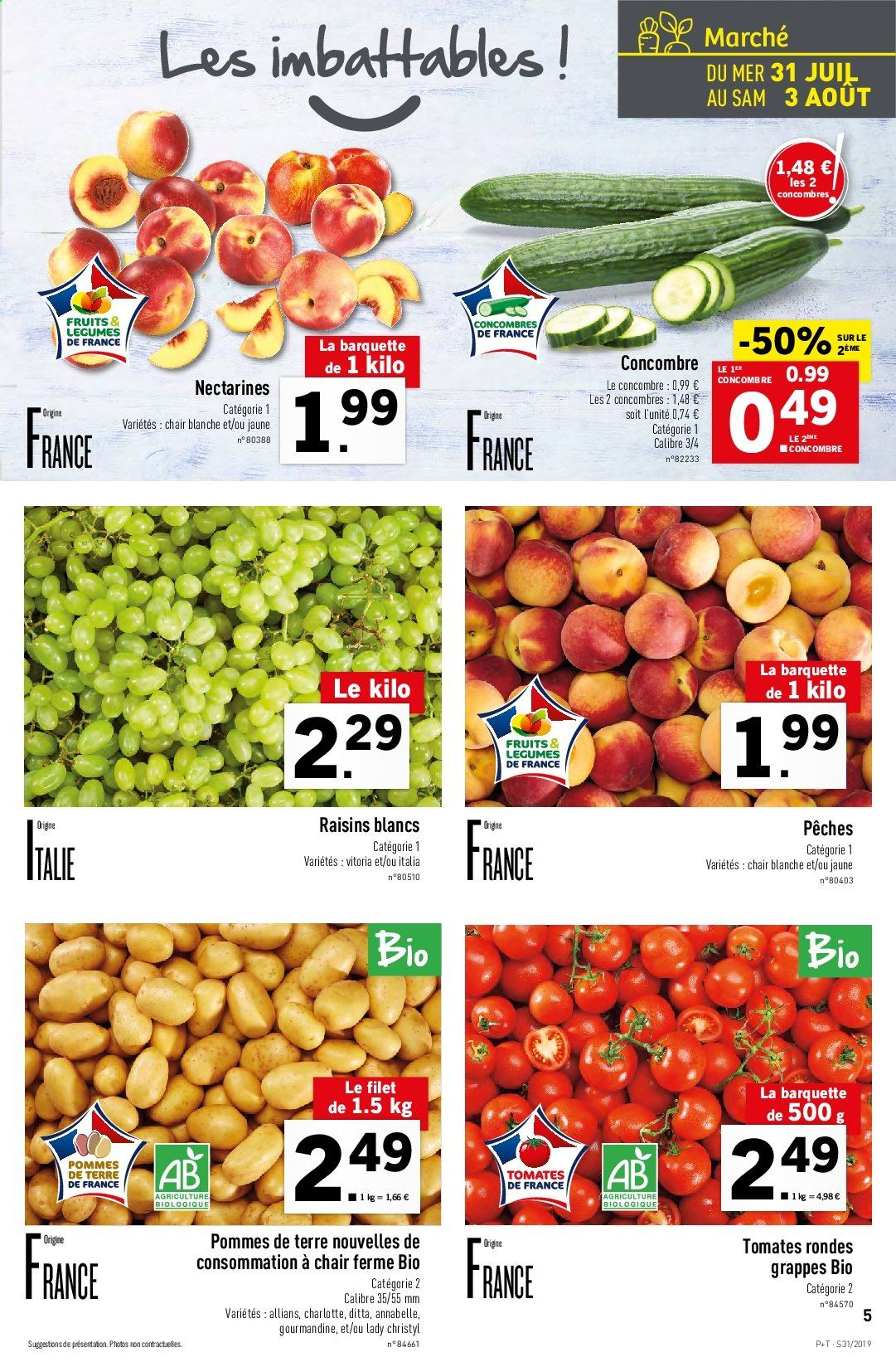 Catalogue Lidl - 31.07.2019 - 06.08.2019. Page 5.