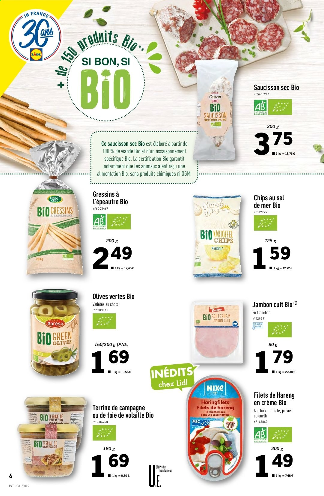 Catalogue Lidl - 31.07.2019 - 06.08.2019. Page 6.