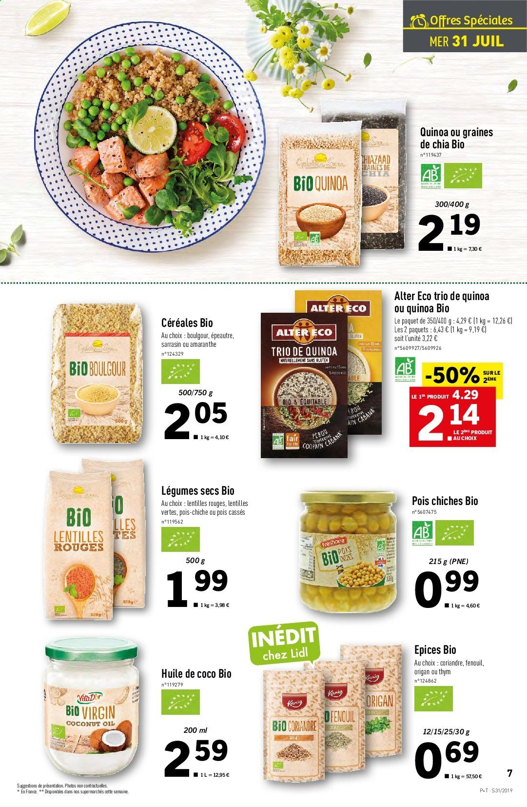 Catalogue Lidl - 31.07.2019 - 06.08.2019. Page 7.