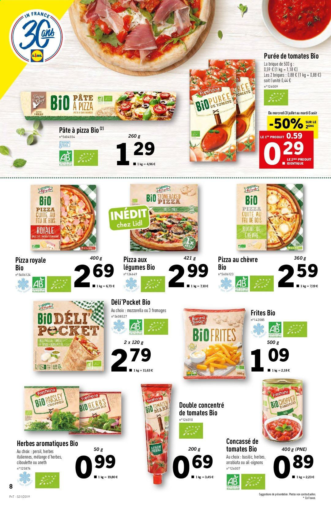 Catalogue Lidl - 31.07.2019 - 06.08.2019. Page 8.