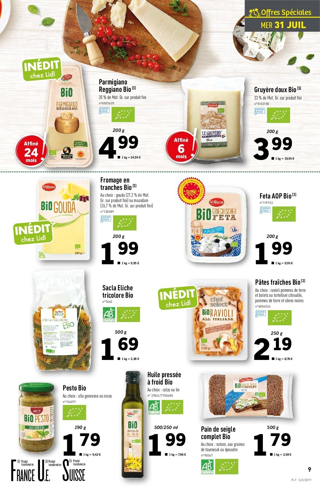 Catalogue Lidl - 31.07.2019 - 06.08.2019. Page 9.