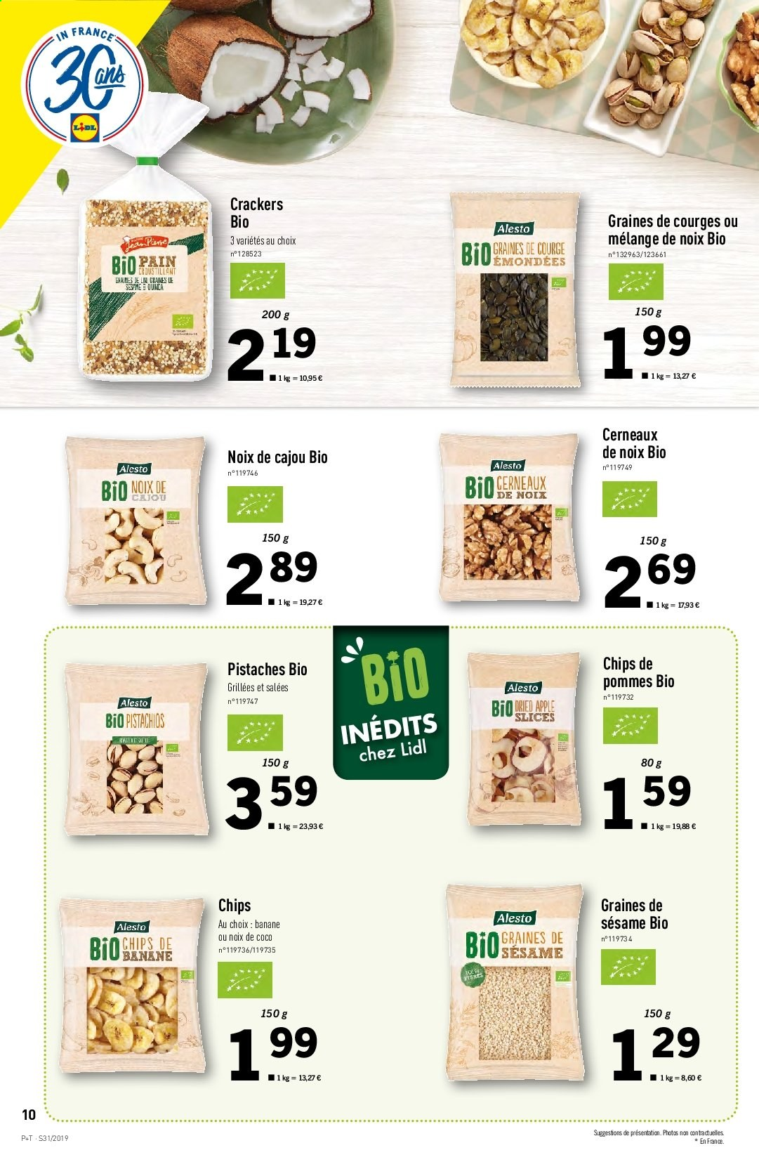 Catalogue Lidl - 31.07.2019 - 06.08.2019. Page 10.