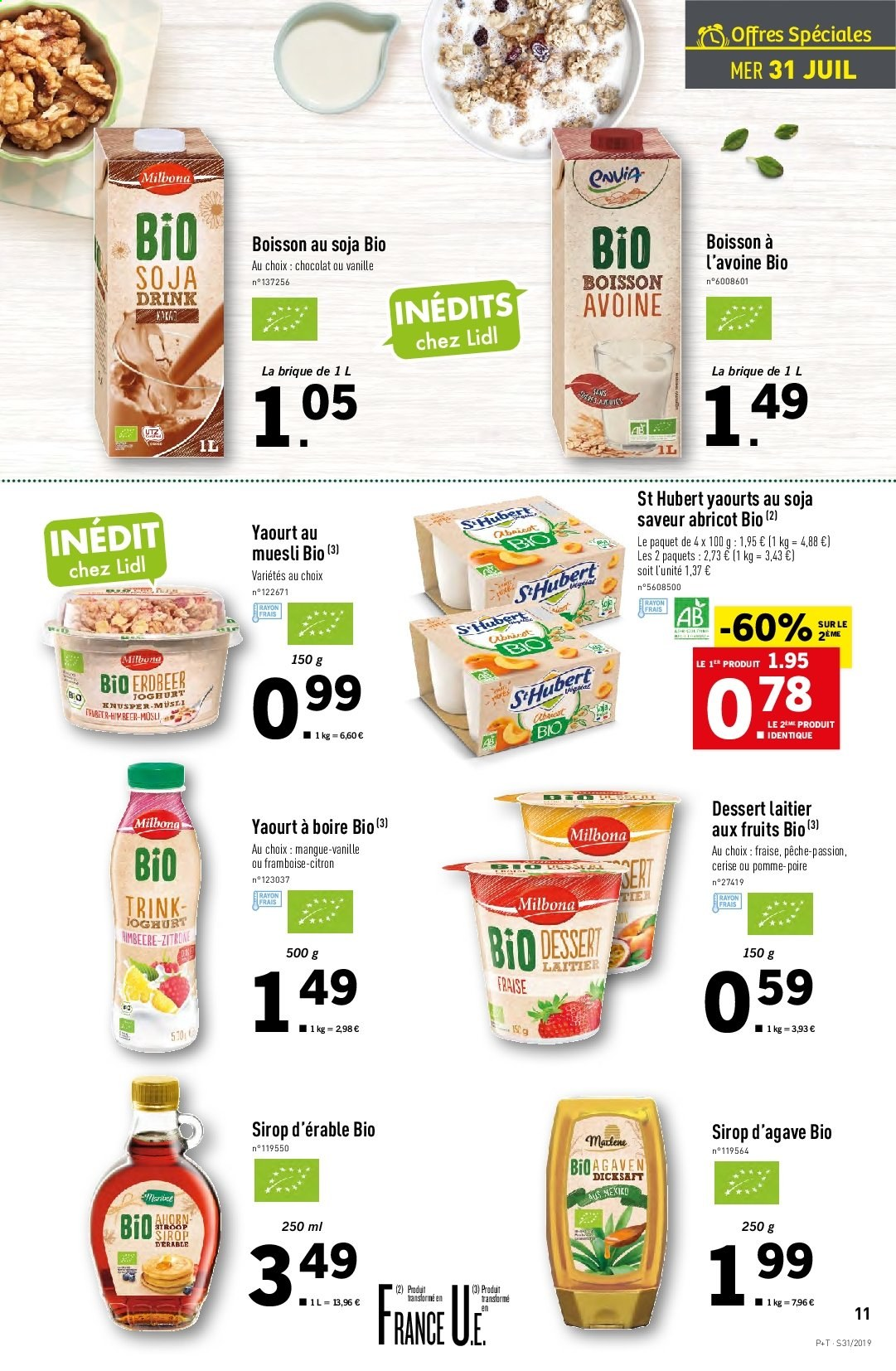 Catalogue Lidl - 31.07.2019 - 06.08.2019. Page 11.