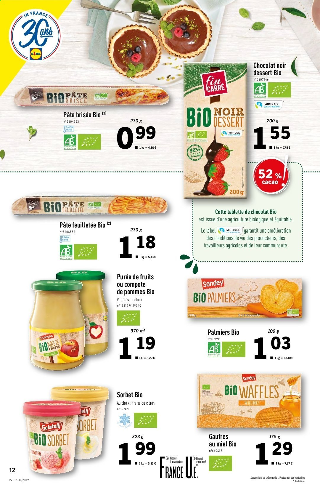 Catalogue Lidl - 31.07.2019 - 06.08.2019. Page 12.