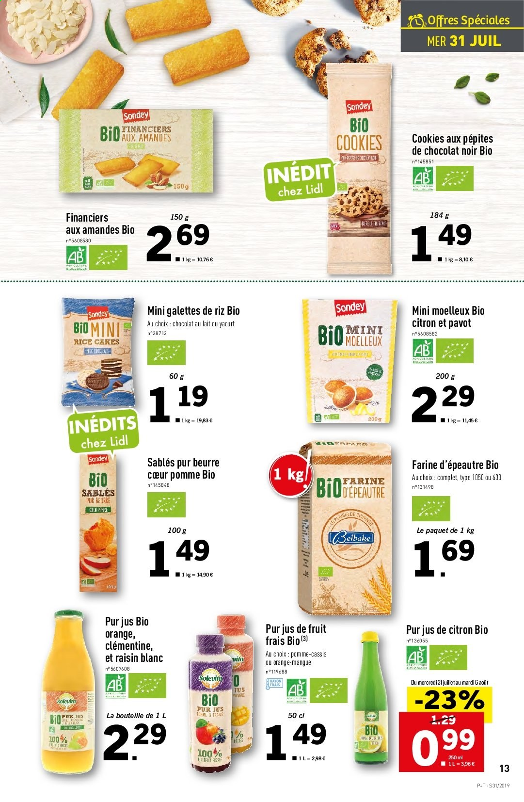 Catalogue Lidl - 31.07.2019 - 06.08.2019. Page 13.