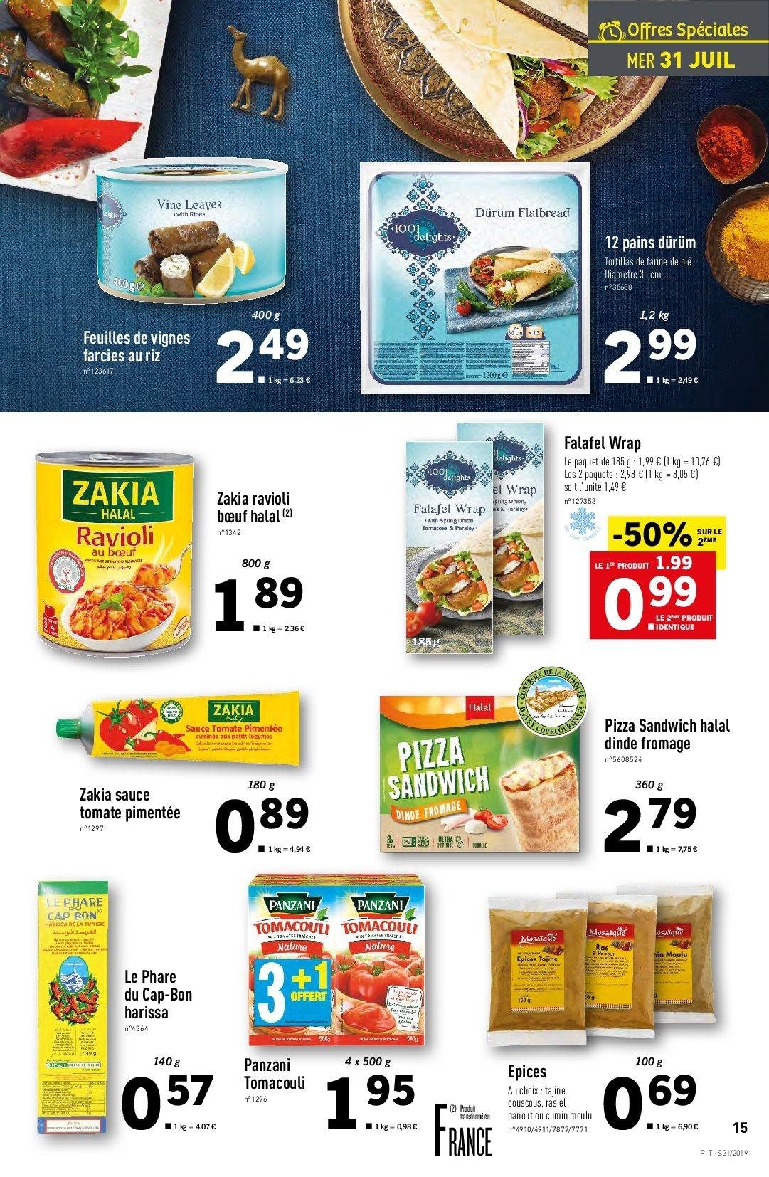 Catalogue Lidl - 31.07.2019 - 06.08.2019. Page 15.