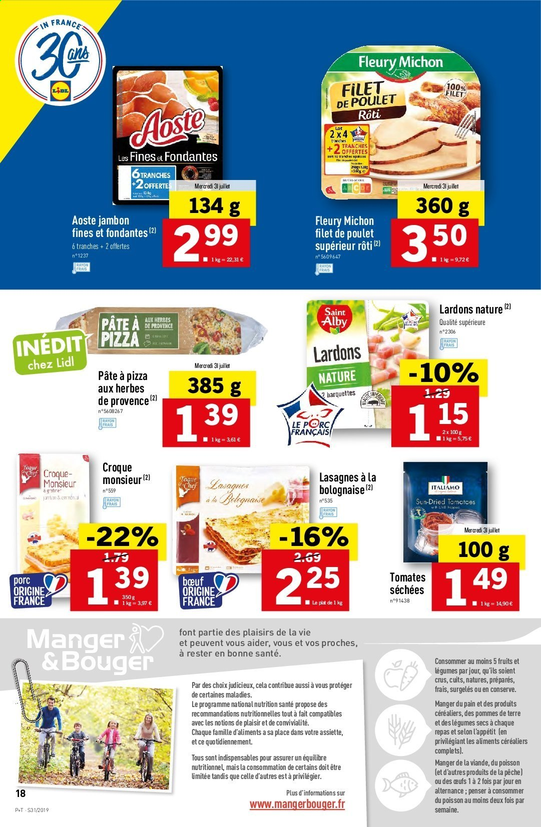 Catalogue Lidl - 31.07.2019 - 06.08.2019. Page 18.