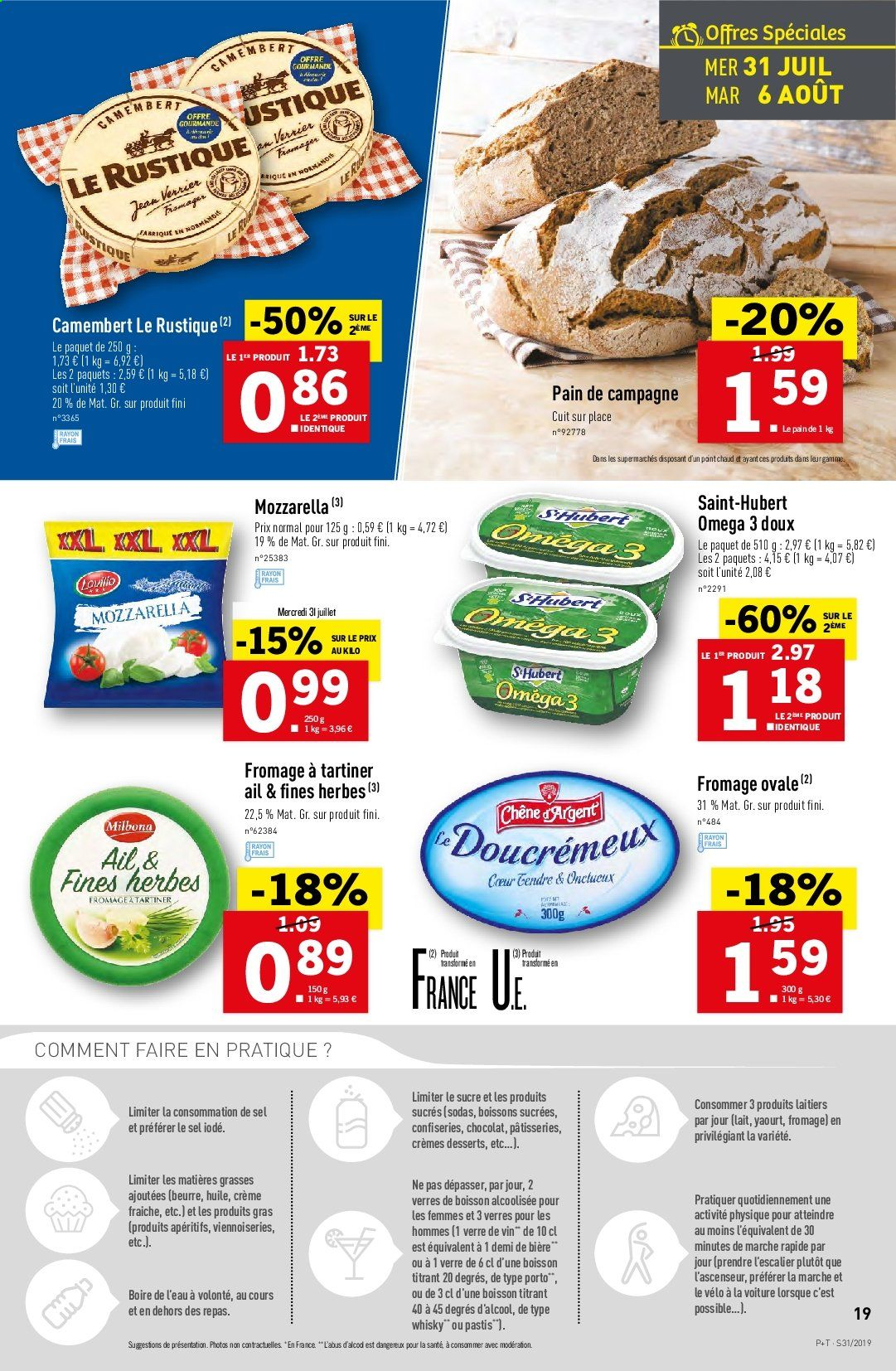 Catalogue Lidl - 31.07.2019 - 06.08.2019. Page 19.