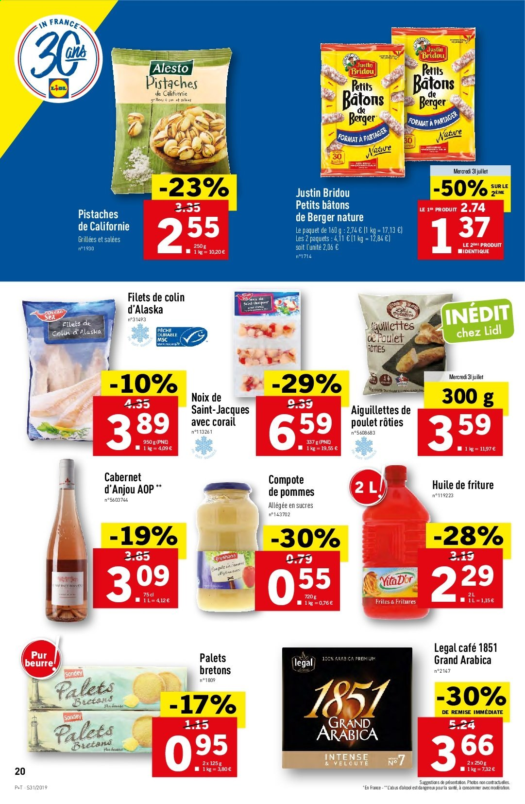 Catalogue Lidl - 31.07.2019 - 06.08.2019. Page 20.