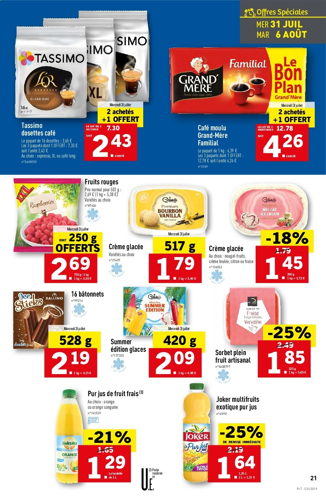 Catalogue Lidl - 31.07.2019 - 06.08.2019. Page 21.