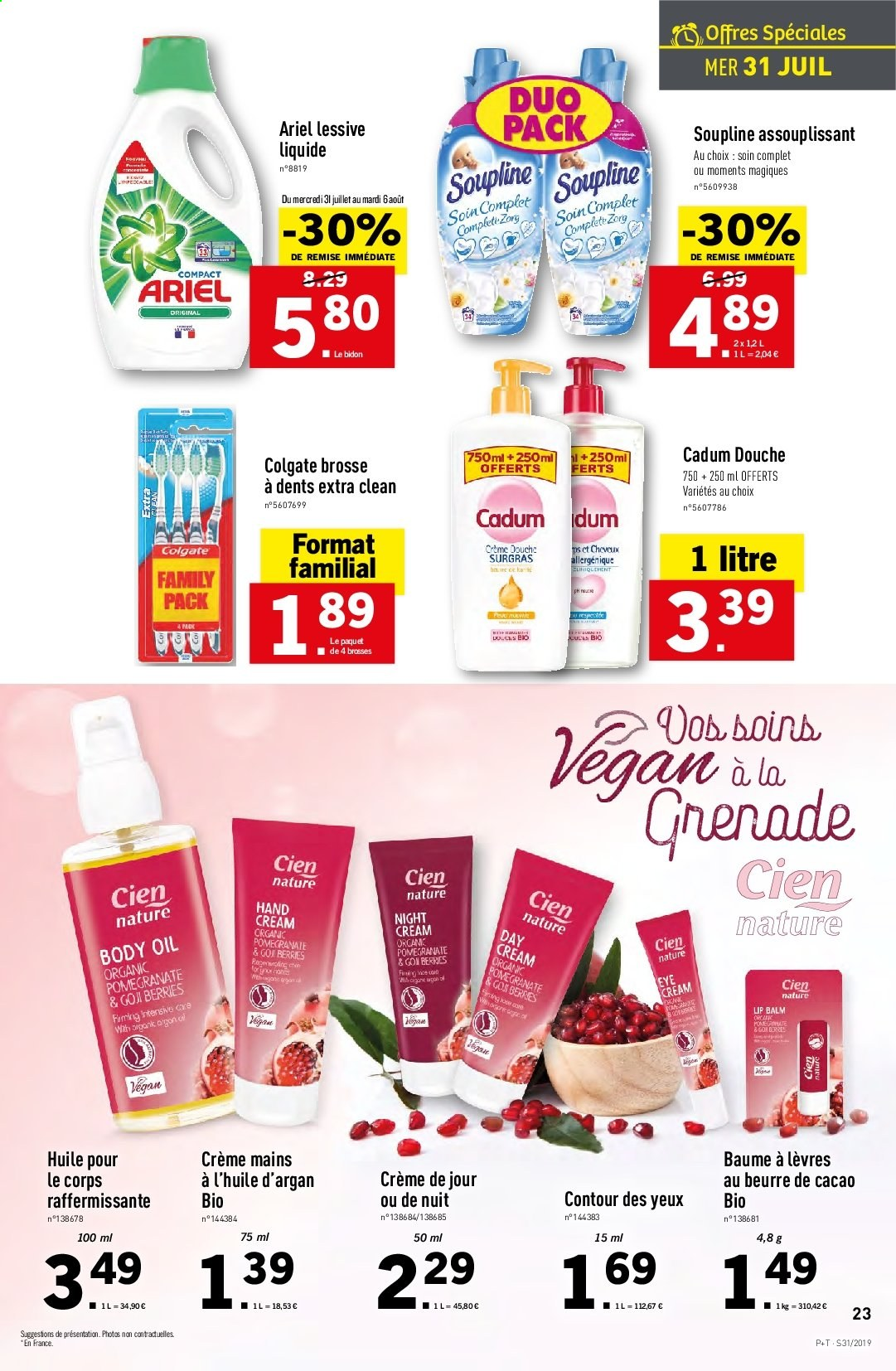 Catalogue Lidl - 31.07.2019 - 06.08.2019. Page 23.