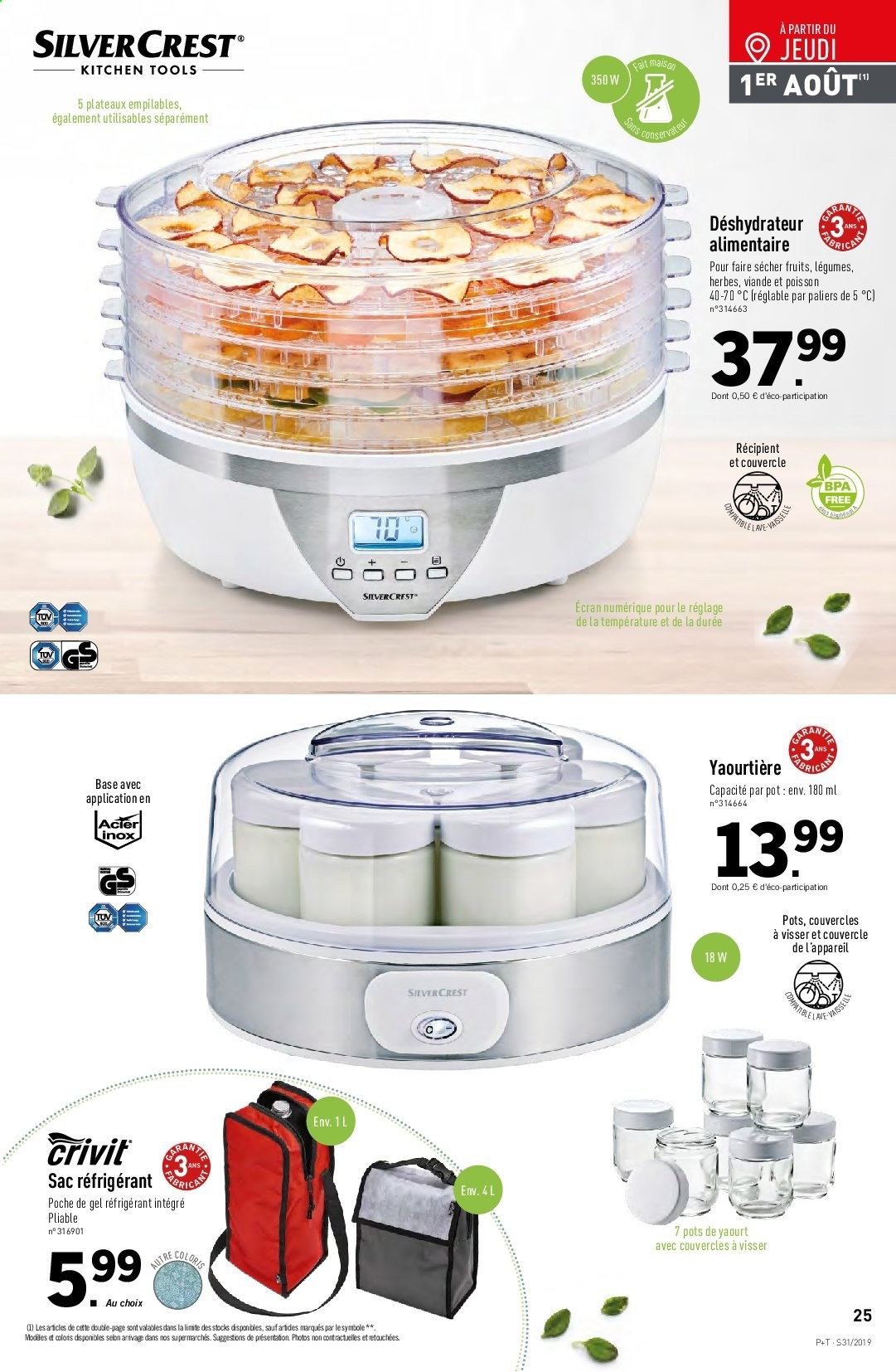Catalogue Lidl - 31.07.2019 - 06.08.2019. Page 27.