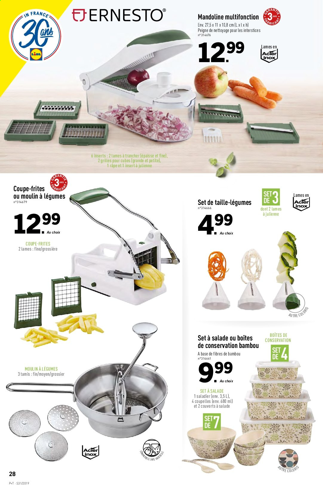 Catalogue Lidl - 31.07.2019 - 06.08.2019. Page 30.