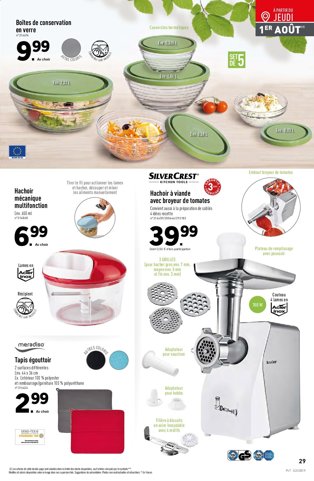 Catalogue Lidl - 31.07.2019 - 06.08.2019. Page 31.