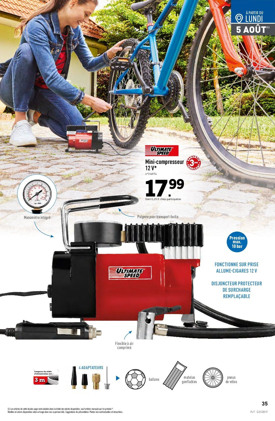 Catalogue Lidl - 31.07.2019 - 06.08.2019. Page 37.