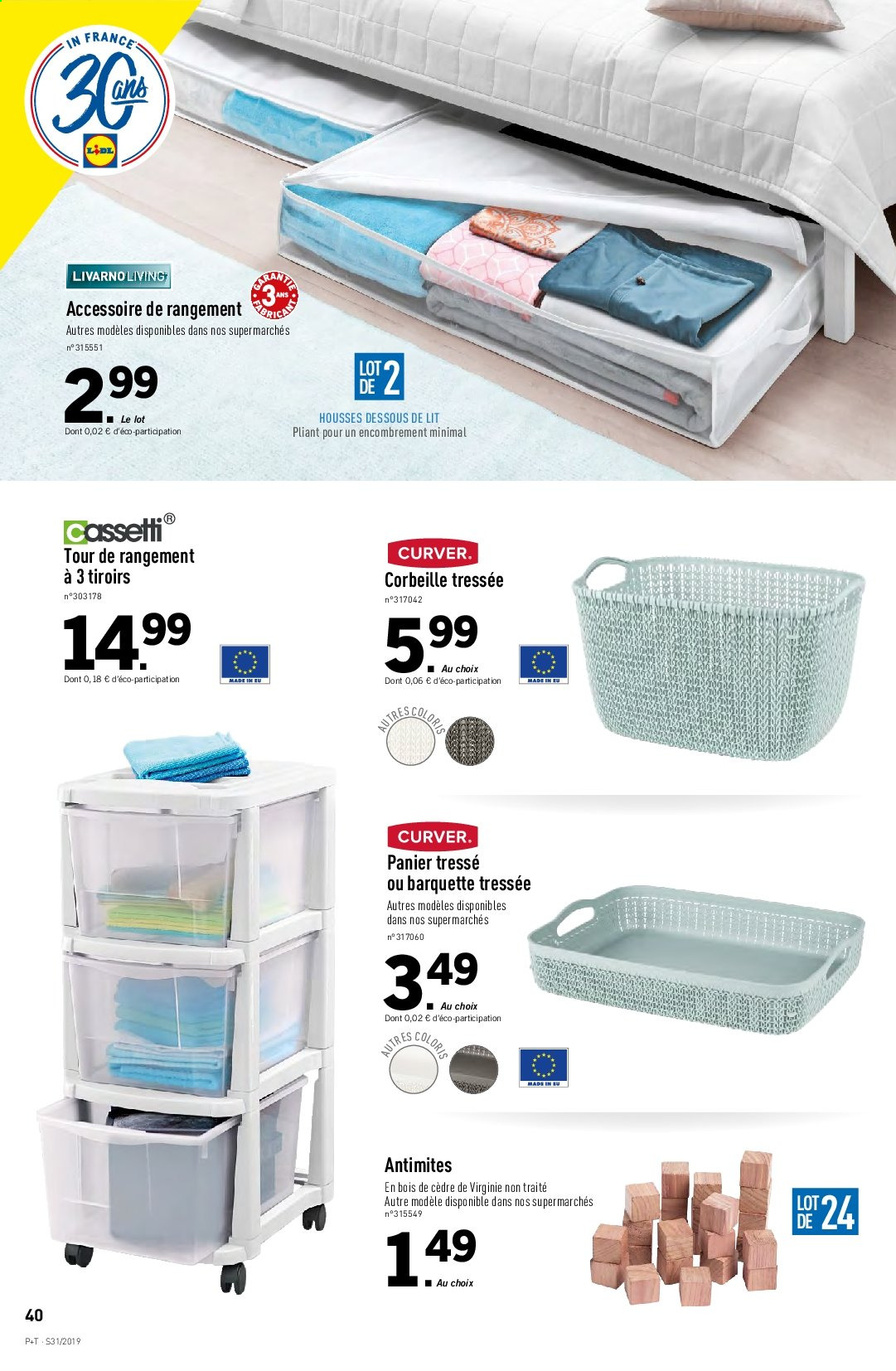 Catalogue Lidl - 31.07.2019 - 06.08.2019. Page 42.