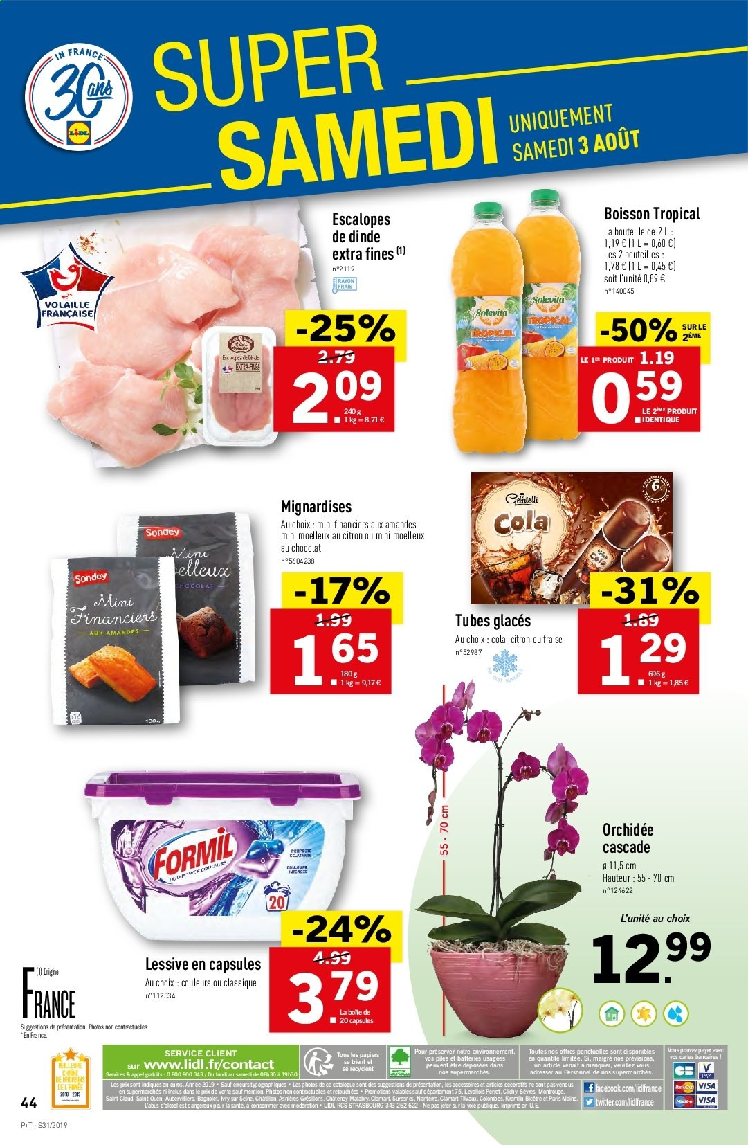 Catalogue Lidl - 31.07.2019 - 06.08.2019. Page 46.