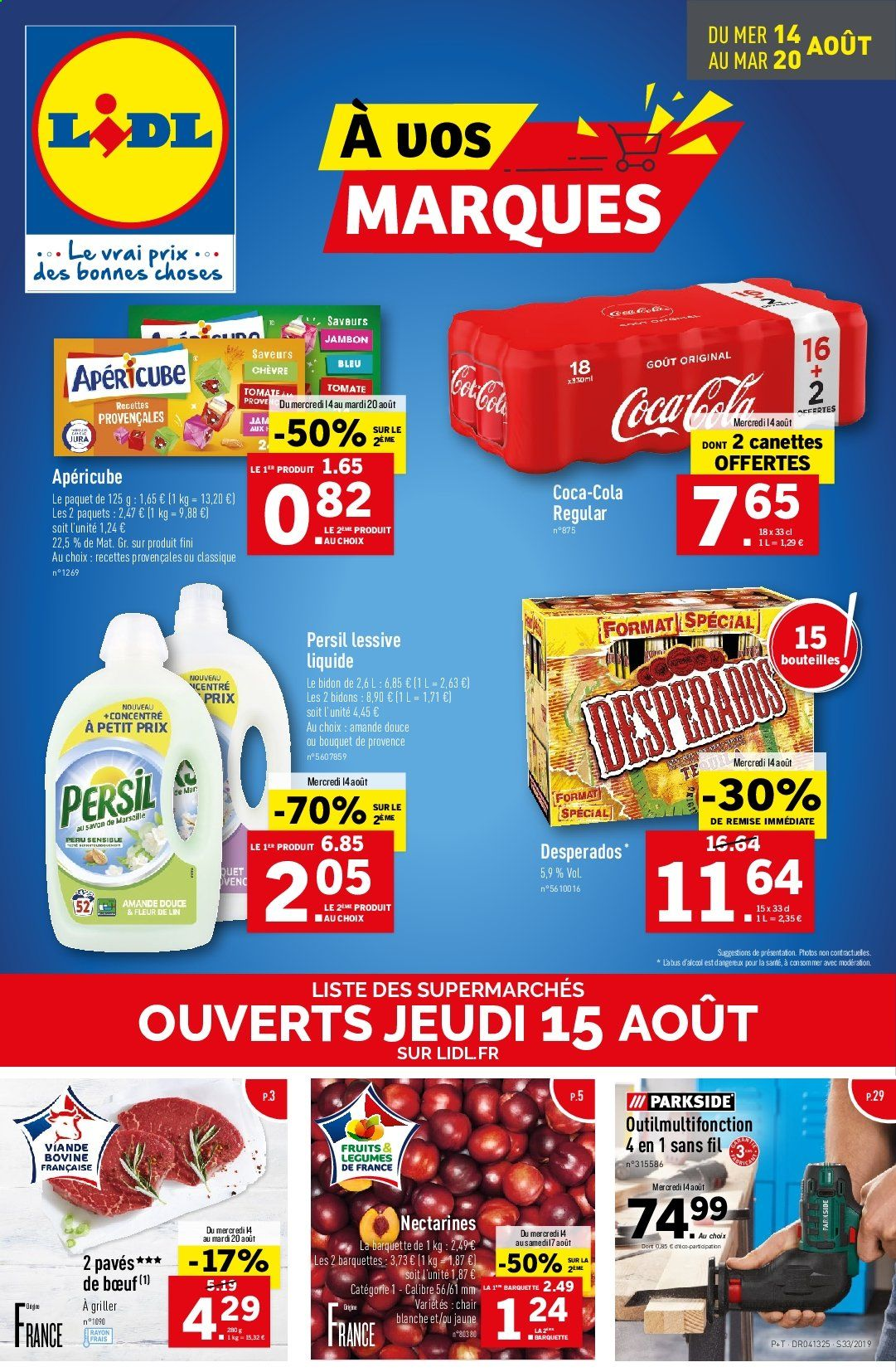 Catalogue Lidl - 14.08.2019 - 20.08.2019. Page 1.