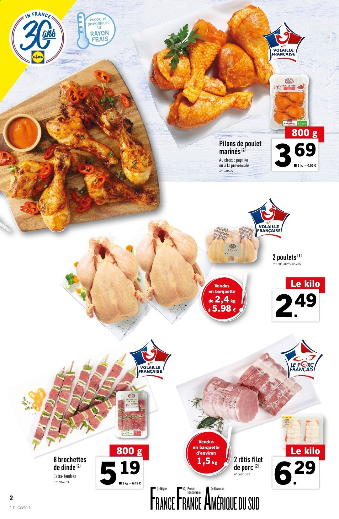 Catalogue Lidl - 14.08.2019 - 20.08.2019. Page 2.
