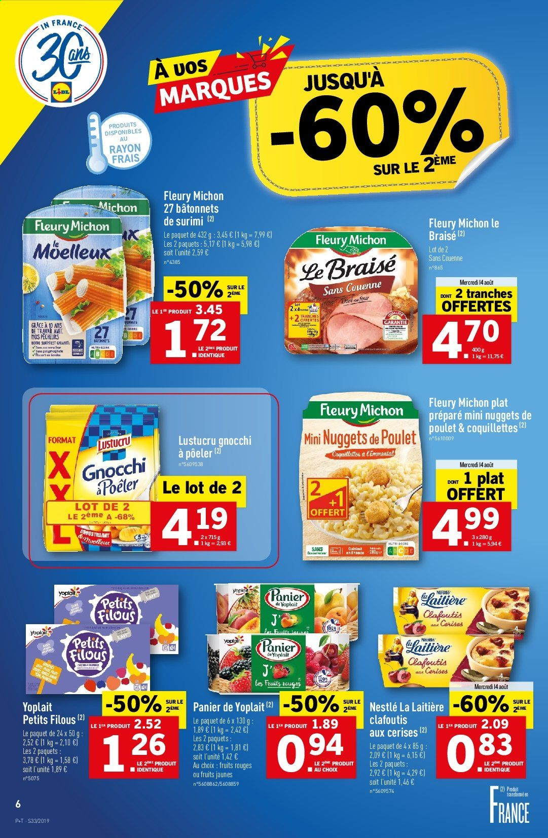 Catalogue Lidl - 14.08.2019 - 20.08.2019. Page 6.