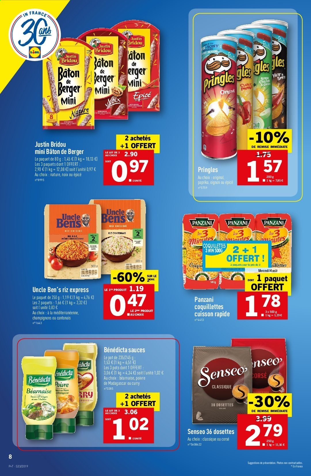 Catalogue Lidl - 14.08.2019 - 20.08.2019. Page 8.