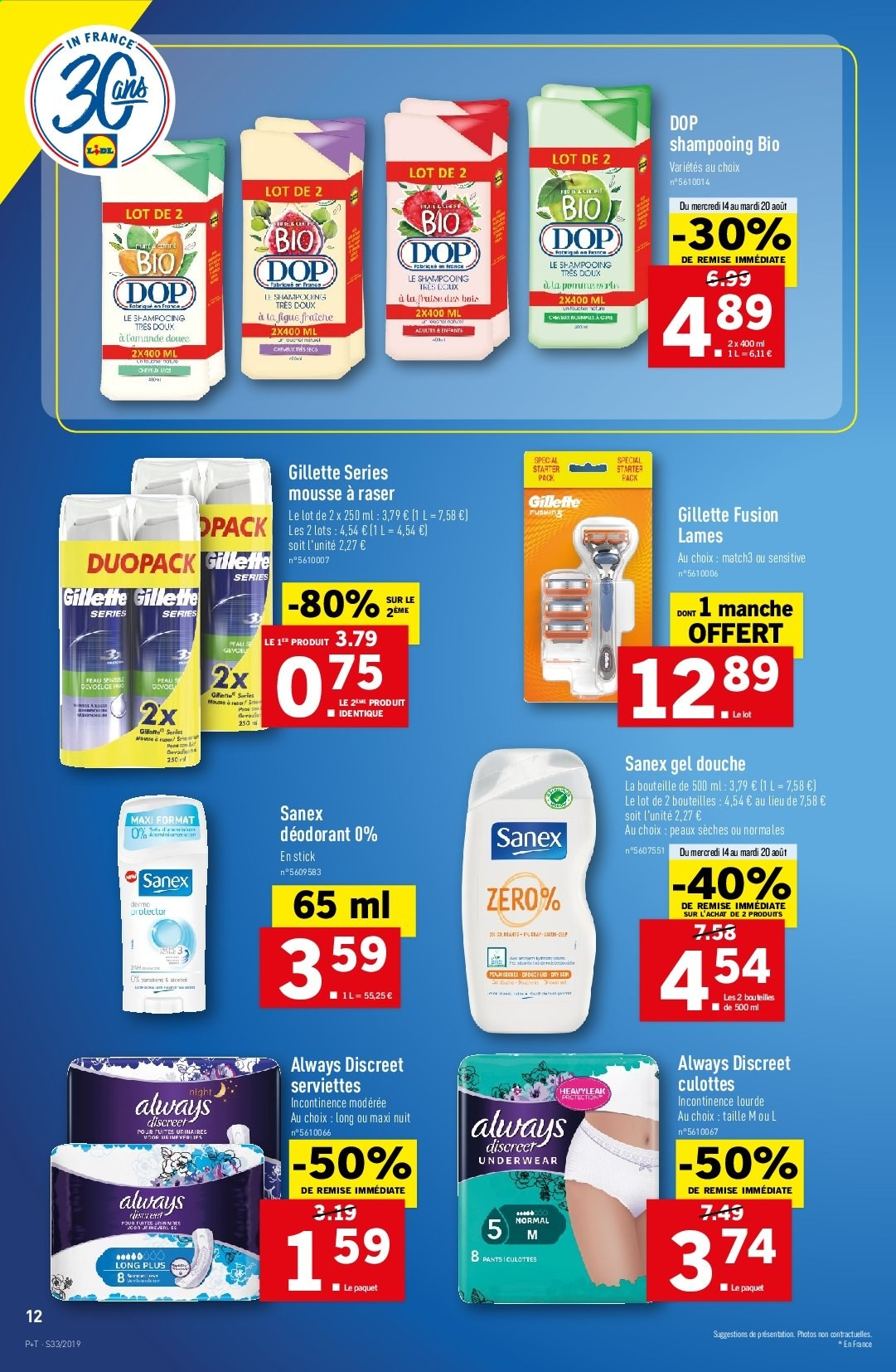 Catalogue Lidl - 14.08.2019 - 20.08.2019. Page 12.