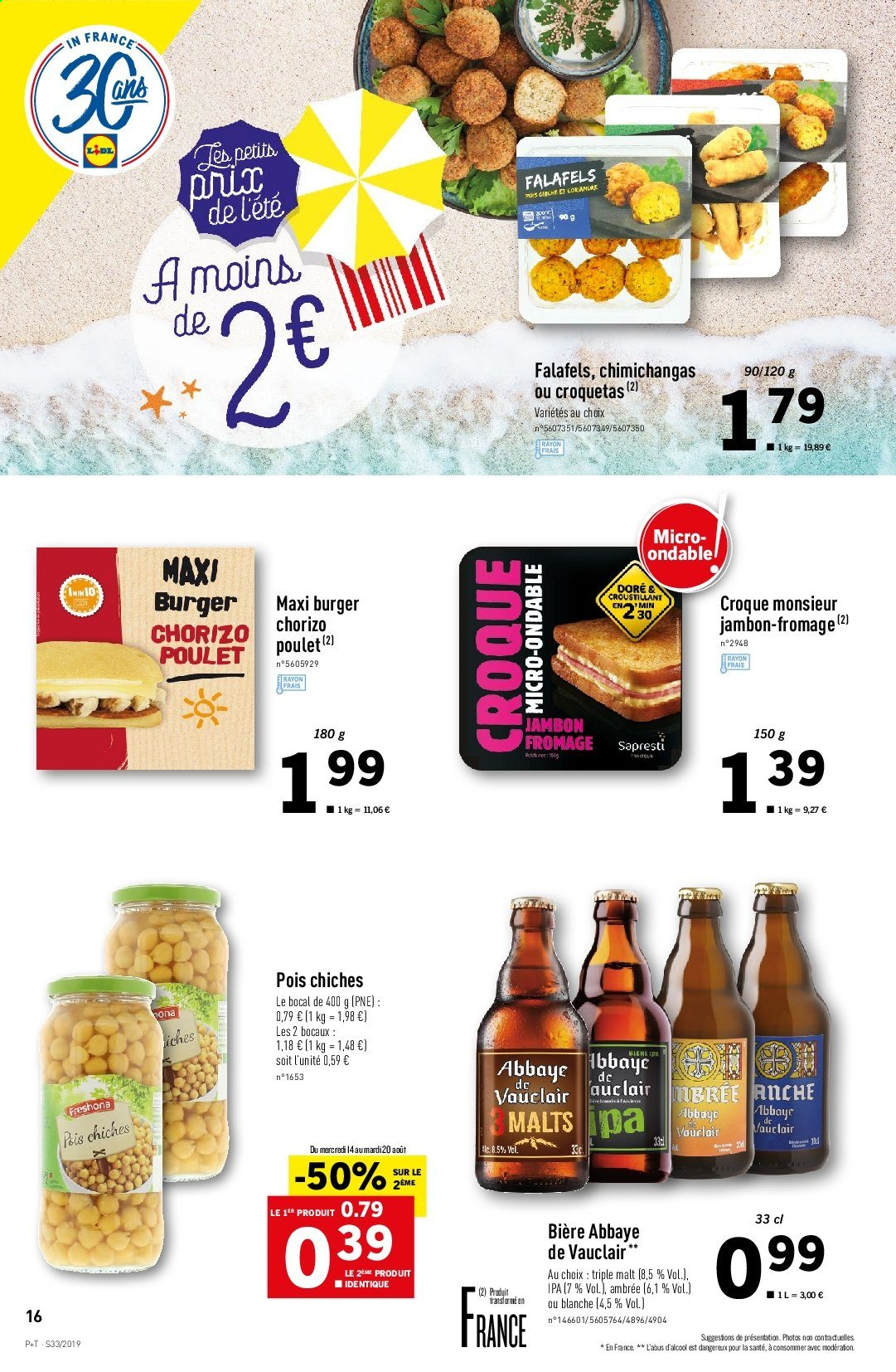 Catalogue Lidl - 14.08.2019 - 20.08.2019. Page 16.