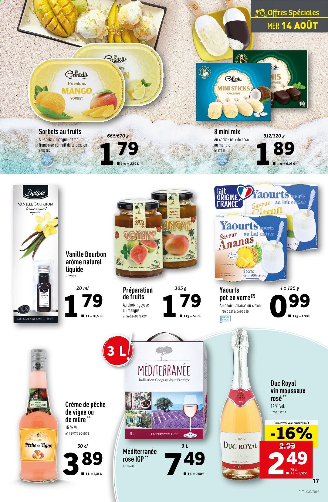 Catalogue Lidl - 14.08.2019 - 20.08.2019. Page 17.