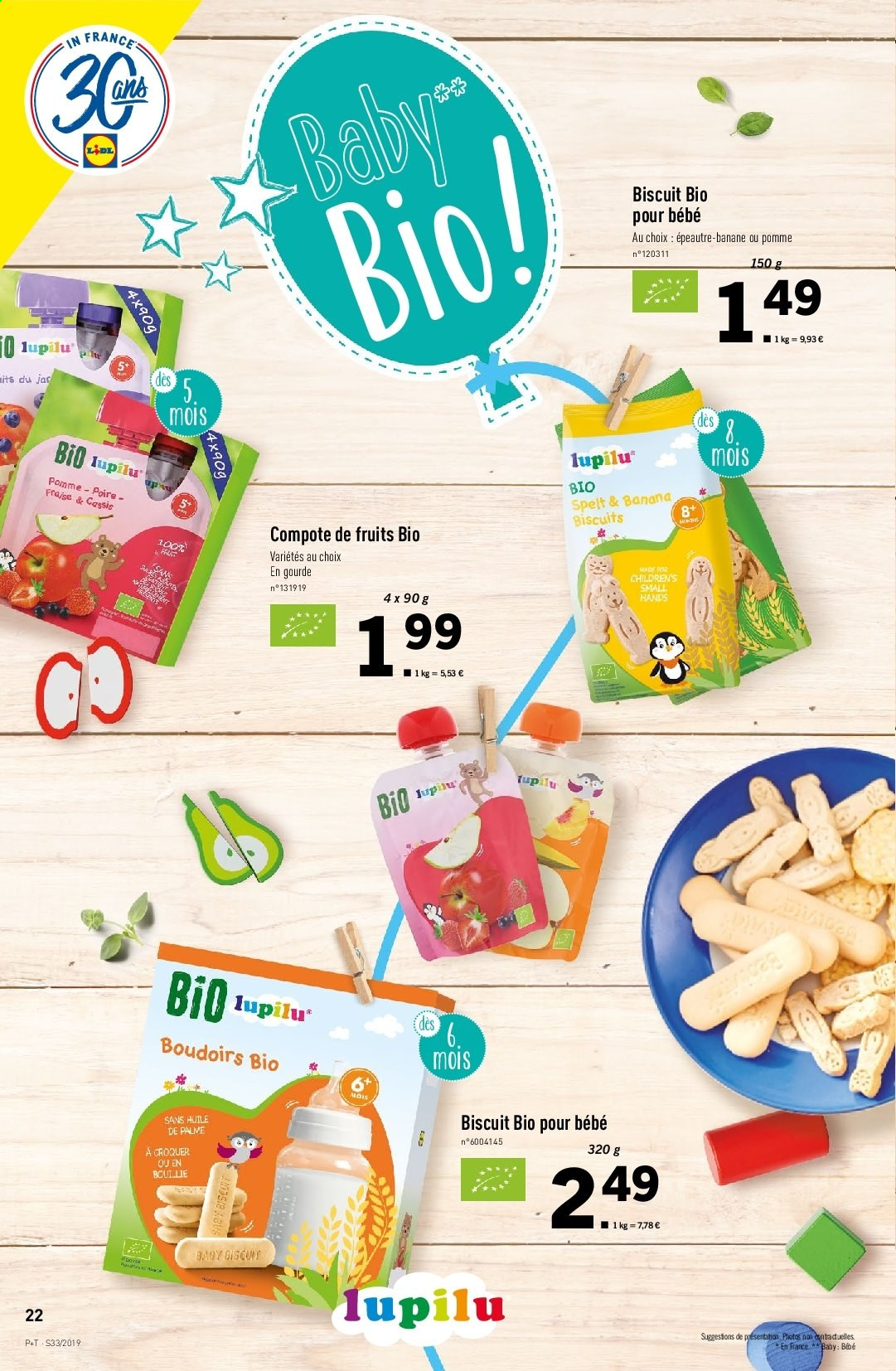 Catalogue Lidl - 14.08.2019 - 20.08.2019. Page 22.