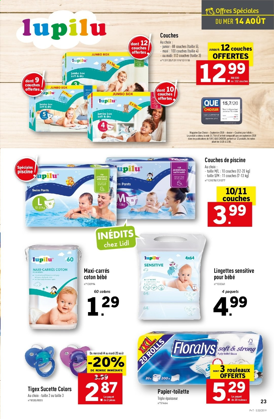 Catalogue Lidl - 14.08.2019 - 20.08.2019. Page 23.