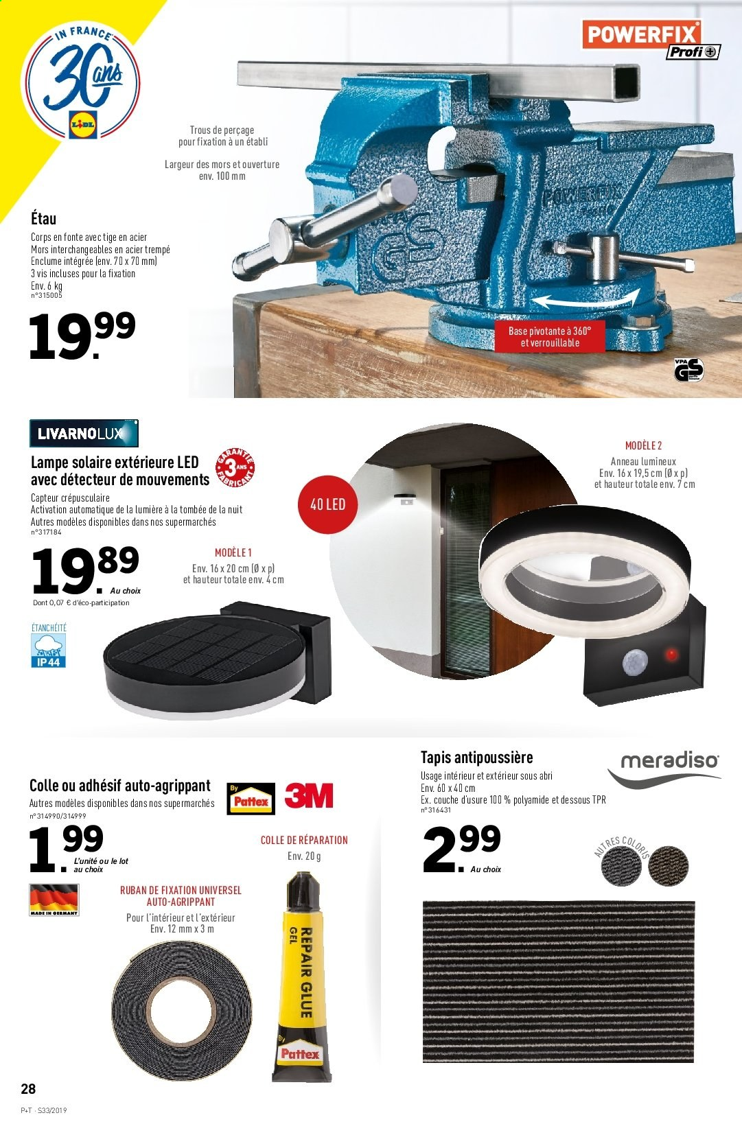 Catalogue Lidl - 14.08.2019 - 20.08.2019. Page 30.