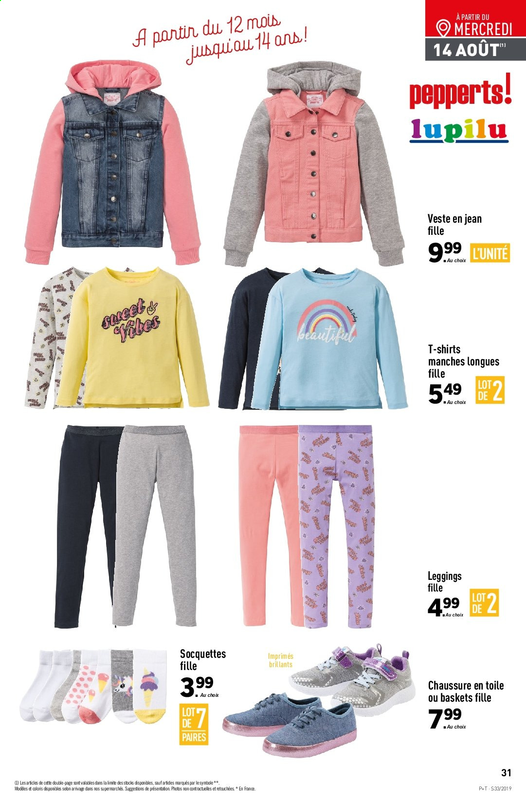 Catalogue Lidl - 14.08.2019 - 20.08.2019. Page 33.