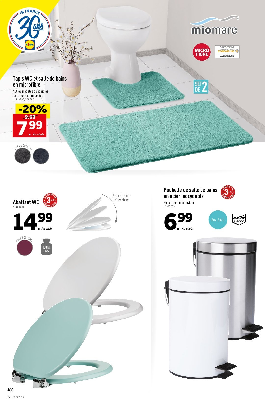Catalogue Lidl - 14.08.2019 - 20.08.2019. Page 44.