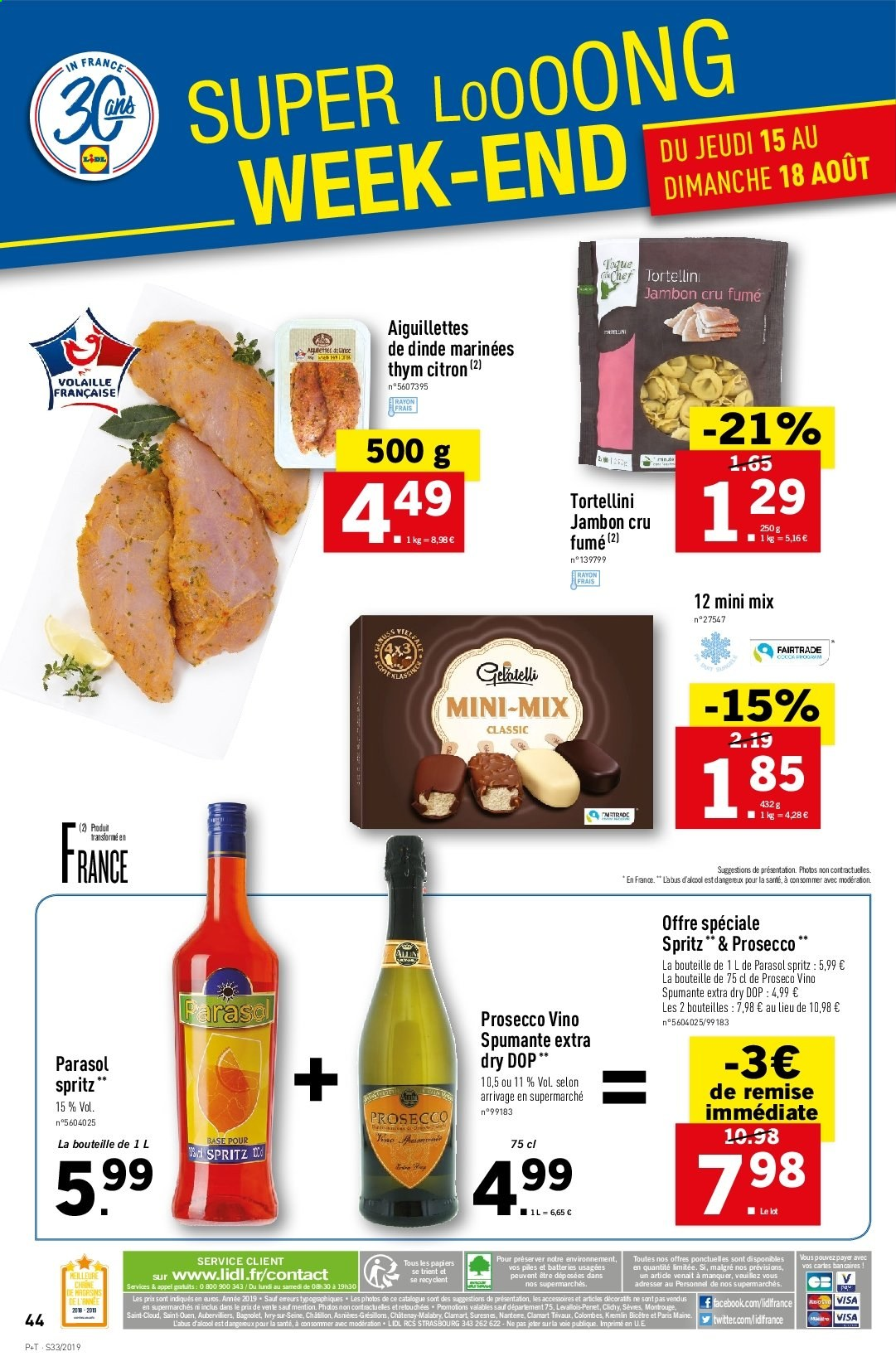 Catalogue Lidl - 14.08.2019 - 20.08.2019. Page 46.
