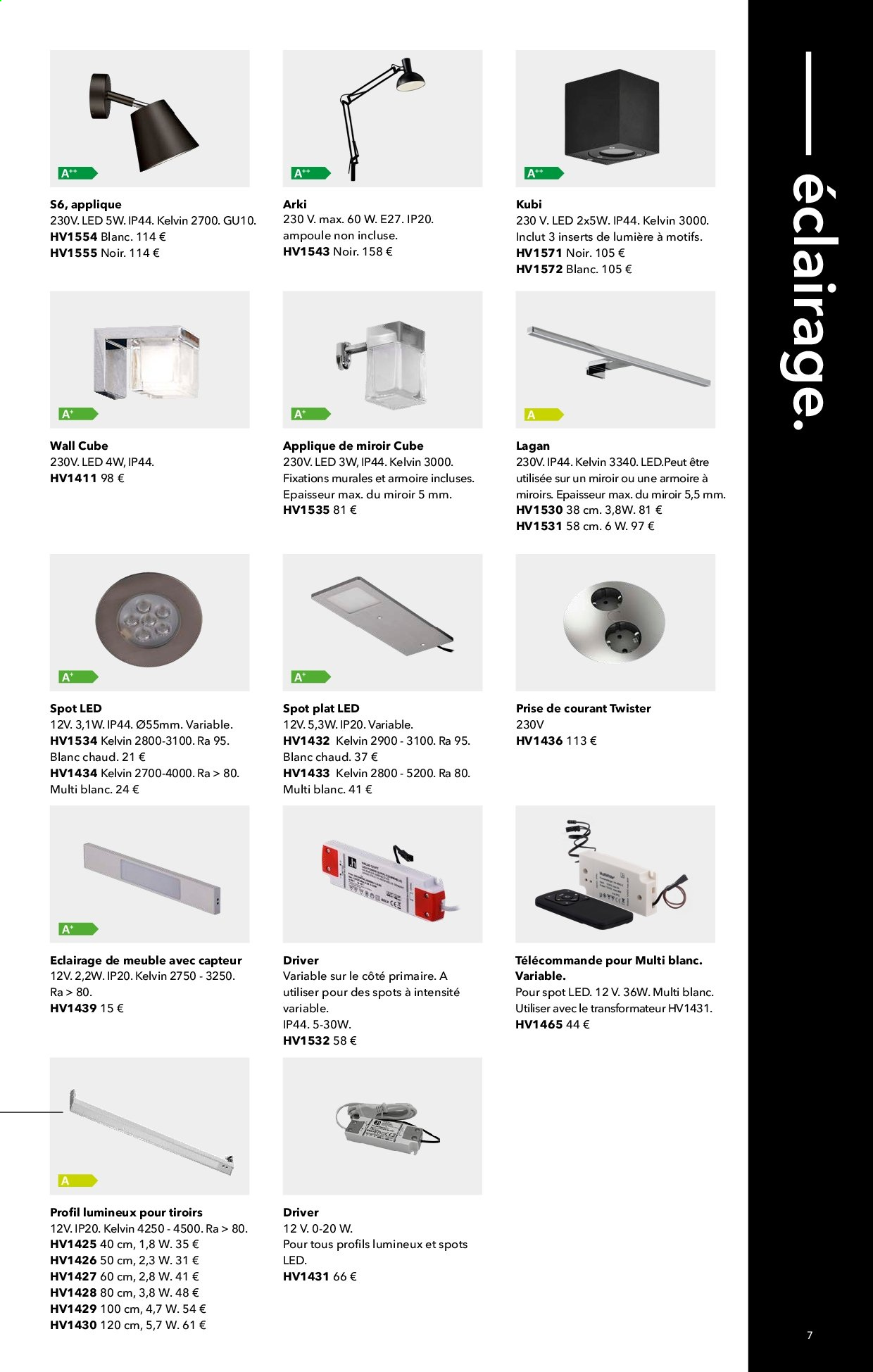 Catalogue Kvik. Page 7.