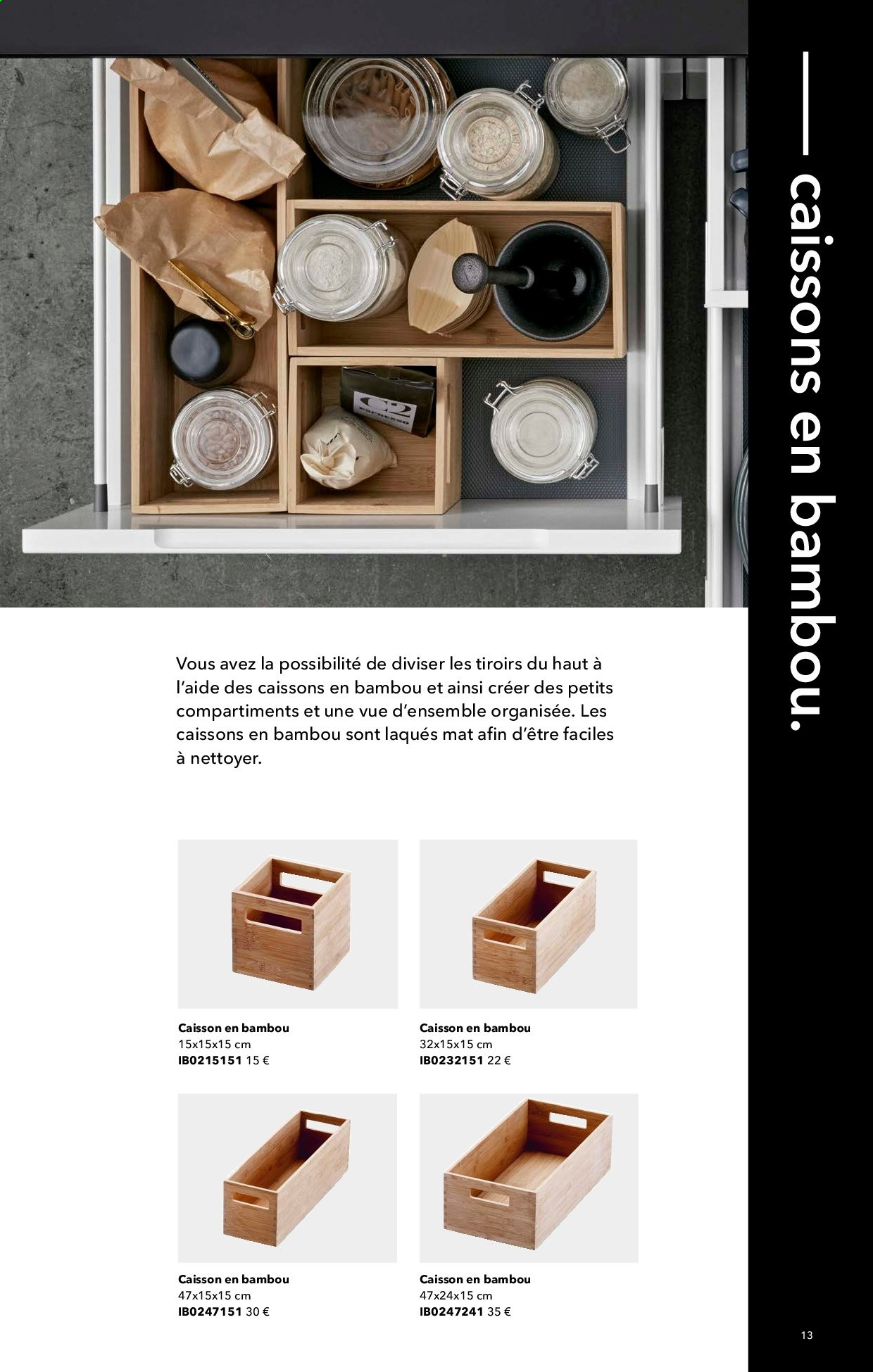 Catalogue Kvik. Page 13.