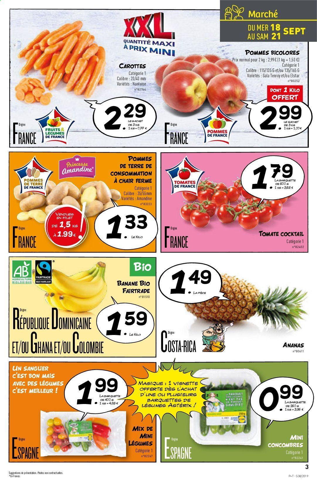 Catalogue Lidl - 18.09.2019 - 24.09.2019. Page 3.