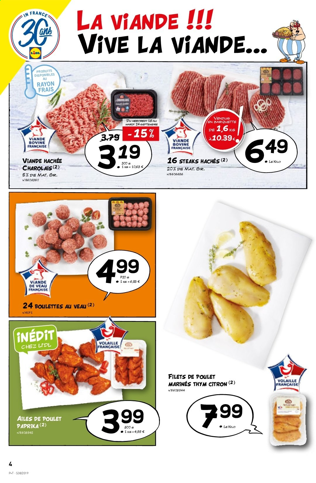 Catalogue Lidl - 18.09.2019 - 24.09.2019. Page 4.