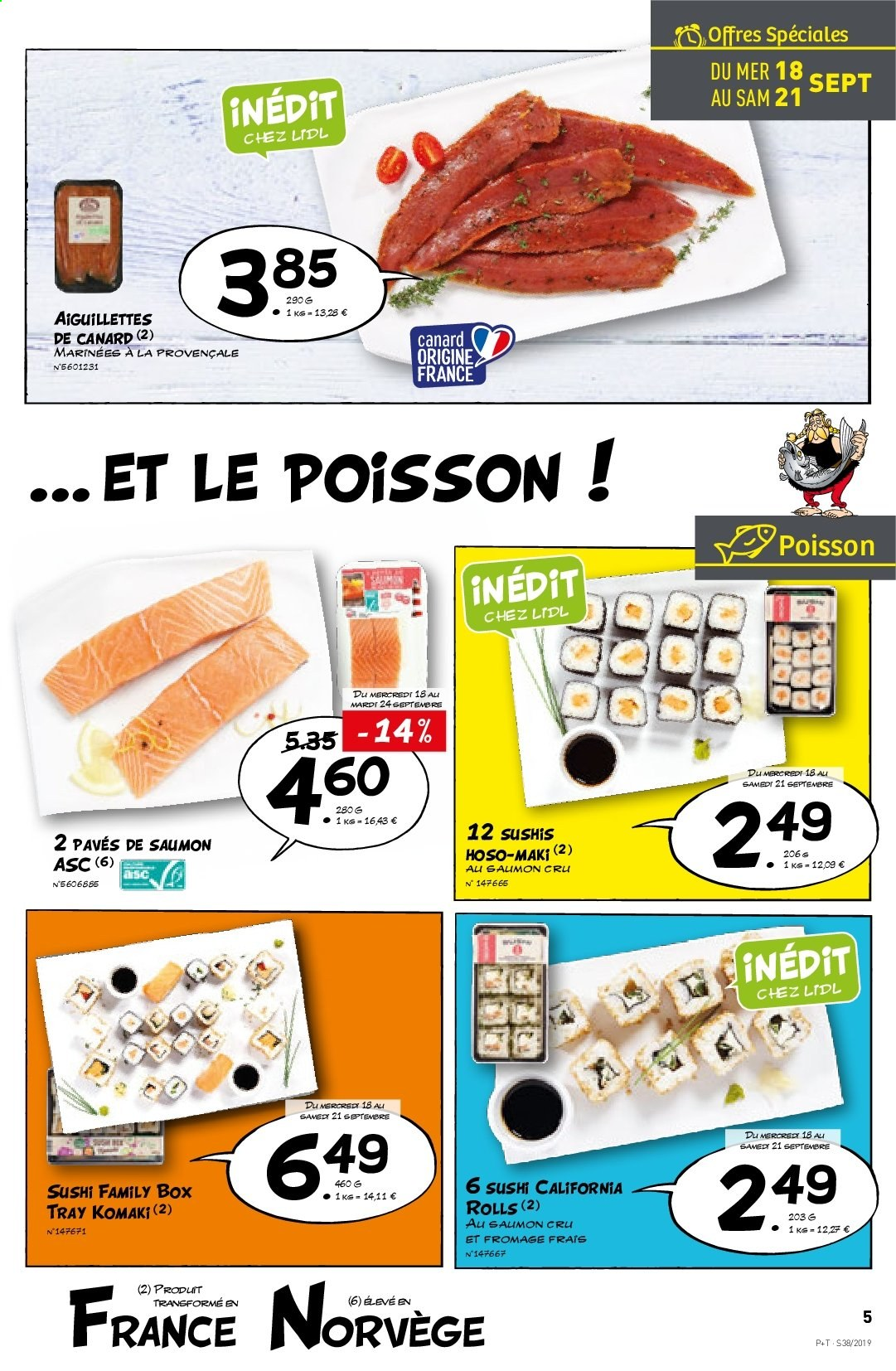 Catalogue Lidl - 18.09.2019 - 24.09.2019. Page 5.